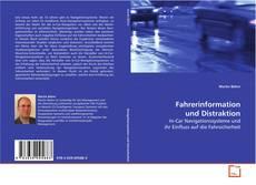 Bookcover of Fahrerinformation und Distraktion