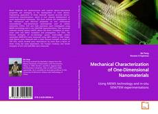 Mechanical Characterization of One-Dimensional Nanomaterials的封面