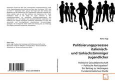 Capa do livro de Politisierungsprozesse italienisch- und türkischstämmiger Jugendlicher