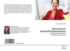 Sponsoring in Nonprofit-Organisationen kitap kapağı