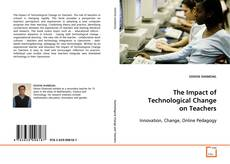 Couverture de The Impact of Technological Change on Teachers