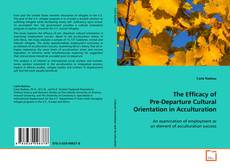 Bookcover of The Efficacy of Pre-Departure Cultural Orientation in Acculturation