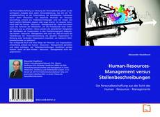 Bookcover of Human-Resources-Management versus Stellenbeschreibungen
