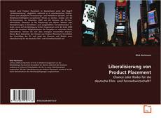 Bookcover of Liberalisierung von Product Placement