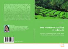 Buchcover von SME Promotion Activities in Indonesia