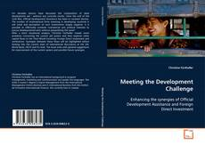 Buchcover von Meeting the Development Challenge