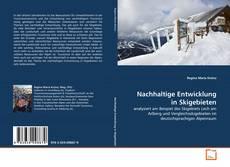 Buchcover von Nachhaltige Entwicklung in Skigebieten