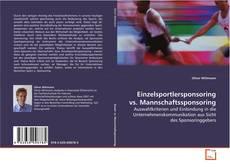 Borítókép a  Einzelsportlersponsoring vs. Mannschaftssponsoring - hoz