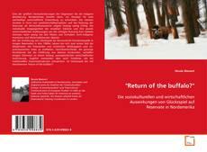 "Обложка ""Return of the buffalo?"""