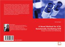 Buchcover von A Novel Method for ICSI: Rotationally Oscillating Drill