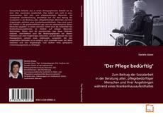 """Portada del libro de """"Der Pflege bedürftig"""""""