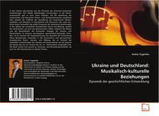 Capa do livro de Ukraine und Deutschland: Musikalisch-kulturelle Beziehungen