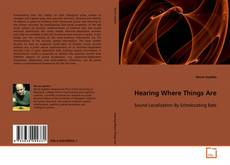 Buchcover von Hearing Where Things Are