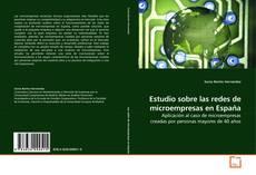 Bookcover of Estudio sobre las redes de microempresas en España