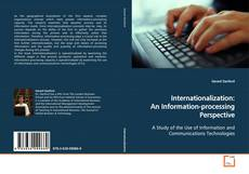 Bookcover of Internationalization: An Information-processing Perspective