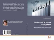 Borítókép a  Risk Analysis in Project Management - hoz
