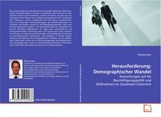 Portada del libro de Herausforderung: Demographischer Wandel