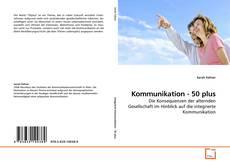 Kommunikation - 50 plus的封面