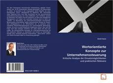 Bookcover of Wertorientierte Konzepte zur Unternehmenssteuerung