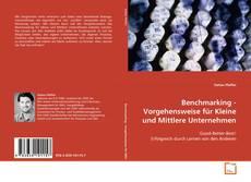 Buchcover von Benchmarking - Vorgehensweise für Kleine und Mittlere Unternehmen