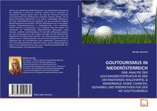GOLFTOURISMUS IN NIEDERÖSTERREICH kitap kapağı