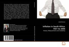 Bookcover of Inflation in South Africa: 1921 to 2006