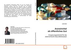 Couverture de Arzneimittel als öffentliches Gut