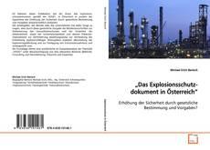 "Borítókép a  ""Das Explosionsschutzdokument in Österreich"" - hoz"