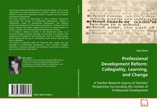 Couverture de Professional Development Reform: Collegiality, Learning, and Change