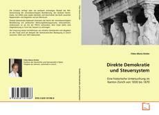 Direkte Demokratie und Steuersystem kitap kapağı