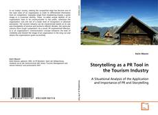Portada del libro de Storytelling as a PR Tool in the Tourism Industry