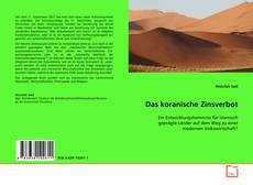 Buchcover von Das koranische Zinsverbot