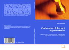 Bookcover of Challenges of Solvency II Implementation