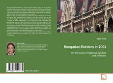 Capa do livro de Hungarian Elections in 2002