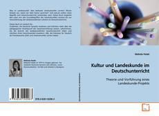 Copertina di Kultur und Landeskunde im Deutschunterricht