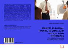 BARRIERS TO FORMAL TRAINING IN SMALL AND MEDIUM SIZED ENTERPRISES kitap kapağı