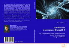 Buchcover von Schriften zur Informations-Energetik 1