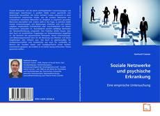 Buchcover von Soziale Netzwerke und psychische Erkrankung