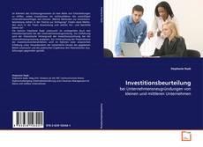 Capa do livro de Investitionsbeurteilung