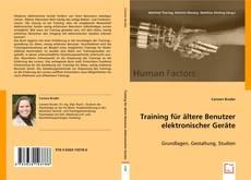 Buchcover von HF:Training für ältere Benutzer elektronischer Geräte