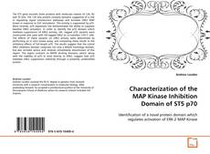 Bookcover of Characterization of the MAP Kinase Inhibition Domain of ST5 p70