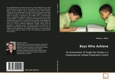 Buchcover von Boys Who Achieve
