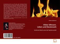 Viktor Ullmann. Leben und Klavierwerk kitap kapağı