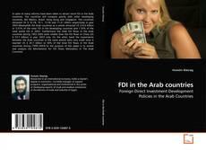 Buchcover von FDI in the Arab countries