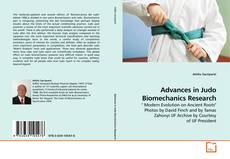 Advances in Judo Biomechanics Research kitap kapağı