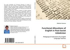 Buchcover von Functional Allocations of English in Post-Soviet Uzbekistan