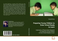 Preparing Young Children to Enter School Ready to Learn的封面
