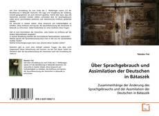 Capa do livro de Über Sprachgebrauch und Assimilation der Deutschen in Bátaszék