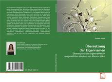 Buchcover von Übersetzung der Eigennamen