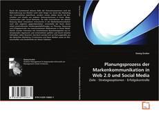 Bookcover of Planungsprozess der Markenkommunikation in Web 2.0 und Social Media
